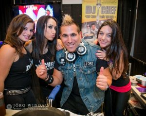 DJ CHEF at BizBash NYC